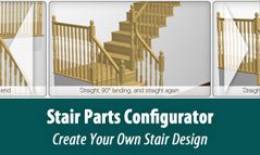 Stair Parts Configurator - Create your own Stair Design